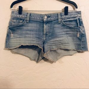 Seven for all mankind jean shorts size 29